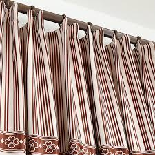 Insulated Window Curtains Insulated Linen Bay Window Blackout Curtains