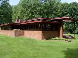 usonian home plans frank lloyd wright u0027s nyc area houses mapped ben rebhuhn house