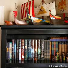 Bookcase For Boys Shower Of Roses Books For Boys A Closer Look At The Bookshelf