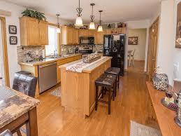 copper oaks alcove woodbury mls edina kitchen island and new tile backsplash all appliances