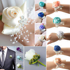wedding wrist corsage wedding wrist corsage ebay