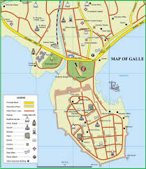 Map Of Sri Lanka Galle Sri Lanka Cruise Port Of Call