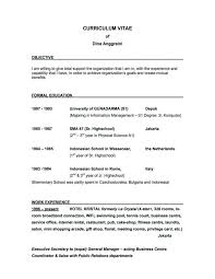 good example of a resume profile on a resume example for summary