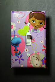 Doc Mcstuffins Home Decor by Doc Mcstuffins Light Switch Plate And Socket Cover Set Girls Boys