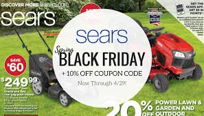 spring black friday 2017 home depot lawn mowers sears spring black friday sale 2017 now through 4 29