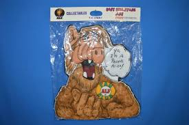 toys hobbies alf find offers online and compare prices at alf tv show collectables soft sculpture i m a people alien art wall hanging nip