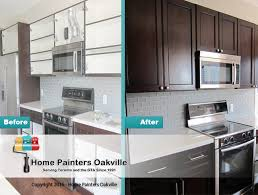 kitchen cabinet mississauga choosing painted vs stained kitchen cabinets in oakville mississauga