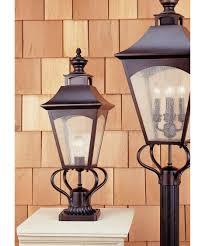 Murry Feiss Lighting Murray Feiss Ol1007 Homestead 10 Inch Wide 1 Light Outdoor Post