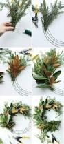 diy fresh magnolia mixed branch wreath darling darleen a