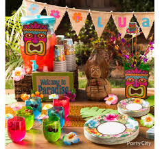 luau birthday party luau party supplies hawaiian luau decorations party city