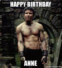 Anne Meme - happy birthday anne make a meme