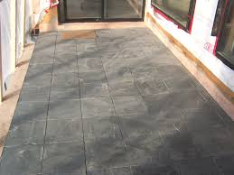 Tiling A Concrete Patio by Beautiful Outdoor Slate Tile Ceramic Wood Tile