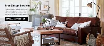 how to design your home interior free interior design services pottery barn