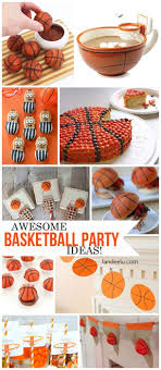 basketball party ideas basketball party treats and diy decorations landeelu