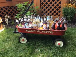 Radio Flyer Turtle Riding Toy Rustic Outdoor Beer Cooler Using A Radio Flyer Wagon For My