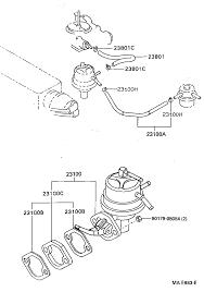 Toyota 2e Engine Diagram Toyota Corollaee100l Agmdsw Tool Engine Fuel Fuel Pump Pipe