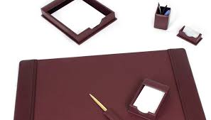 Mahogany Desk Accessories Desk Executive Accessories For Amazing Leather Set