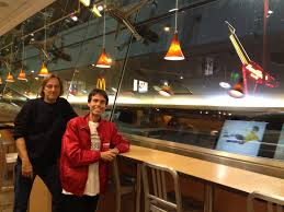seth and howie at mcdonalds
