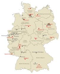 Map Of German States by Download Regional Map Of Germany Major Tourist Attractions Maps