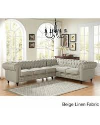 Left Sectional Sofa Bargains On Us Pride Furniture Sophia Modern Style Tufted Rolled