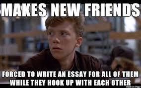 Make Bad Luck Brian Meme - the breakfast club the original bad luck brian memes