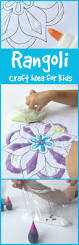 rangoli craft idea for kids diwali learning and craft