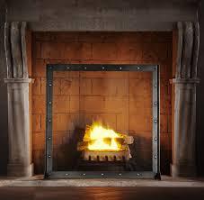 Single Fireplace Screen by Hearth Screens Rh