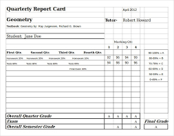27 images of primary report card excel template infovia net