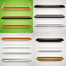 13 different materials stand design exhibition material vector