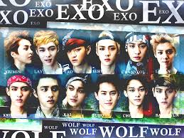 wallpaper exo wolf 88 wolf exo wallpaper images free download