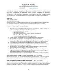 resumes for business analyst positions in princeton business analyst consultant resume