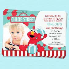 Birthday Card Invitation Ideas Elmo Birthday Invitations Ideas Best Invitations Card Ideas