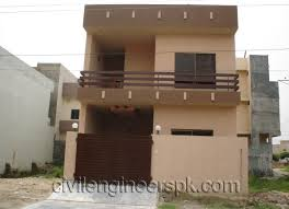 home design for 10 marla front views civil engineers pk