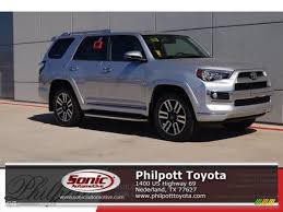 2017 toyota 4runner limited 2017 classic silver metallic toyota 4runner limited 4x4 119719647