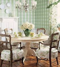 french style dining room french country style dining room with green plaid wallpaper