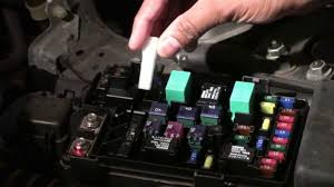 How To Diagnosis And Change The Fuse Of Honda Accord 2007 Youtube