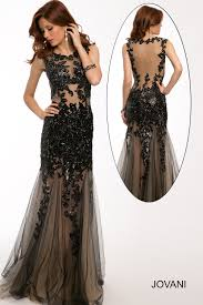 http www jovani com prom dresses sleeveless lace applique gown