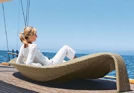 Design Outdoor Furniture by Wicker Outdoor Furniture Leaf Chaise Lounge Design Outdoor