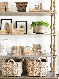 Storage Bookshelves With Baskets by Decorating With Baskets 18 Everyday Ideas Tidbits U0026twine
