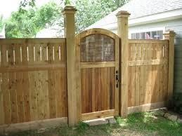 garden gates wood home outdoor decoration