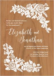 wooden wedding invitations wooden wedding invitations made from real wood