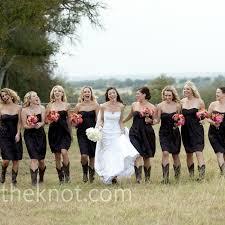 strapless satin bridesmaid dresses with cowboy boots jennifer