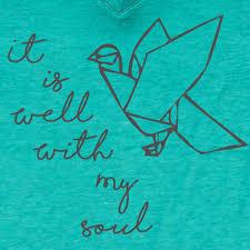 cherished grace u0026 truth well with my soul bird v neck girlie