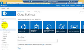 sharepoint designer getting started with sharepoint designer in office 365