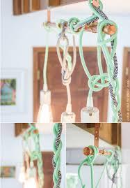 Coloured Cord Pendant Lights Hung Color Cord Pendant Lights Inspiráció Tilka