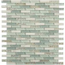 kitchen tile porcelain mosaic backsplash with glass inserts arafen