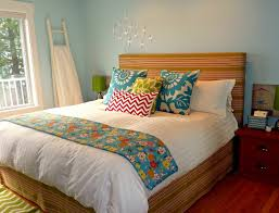 Artsy Bedroom Ideas Bedroom Small Master Bedroom With Diy Upholstered Headboard And