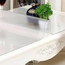 thick plastic table cover clear table cover plastic tablecloth thick roll cloth buy protector