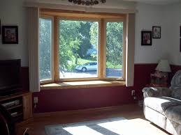 Modern Bay Window Curtains Decorating Decorations Bay Window Seat Curtains Decorative Bay Window