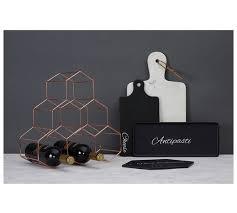 buy vertex 6 bottle copper finish wine rack at argos co uk your